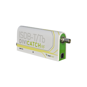 DiviCatch RF ISDB-T/Tb - ISDB-T/Tb Professional RF Receiver