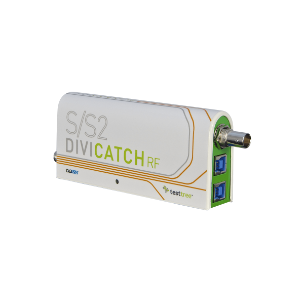 DiviCatch RF-S/S2 - DVB-S/S2 Professional RF Receiver