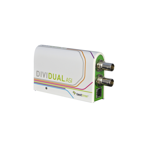 DiviDual ASI - Baseband TS Analyzer + Recorder + Player