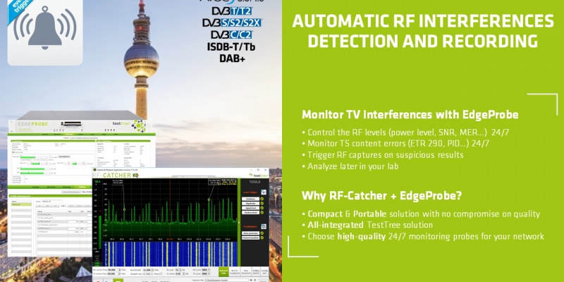 RF-Catcher Suite: Interferences Detection