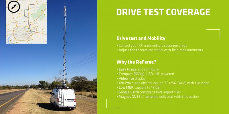 ReFeree Drive Test Coverage