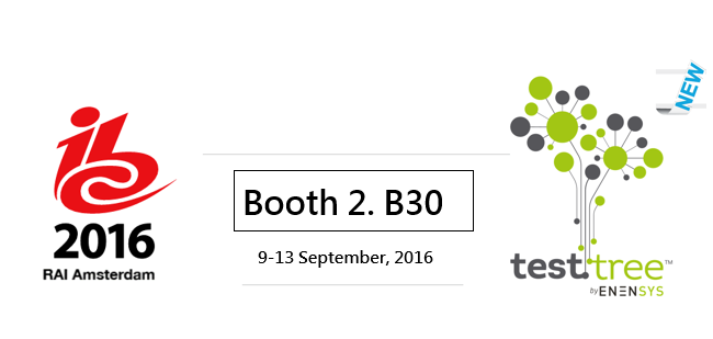 TestTree present at IBC 2016 Booth 2.B30
