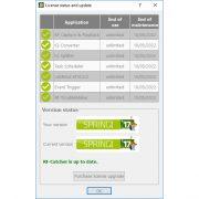 RF-Catcher Application Suite Licenses