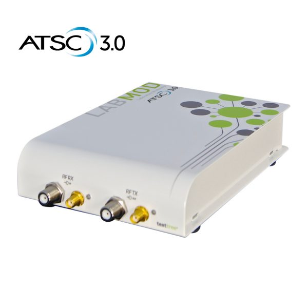 ATSC 3.0 Modulator for Lab - Portable RF Generate & Playback