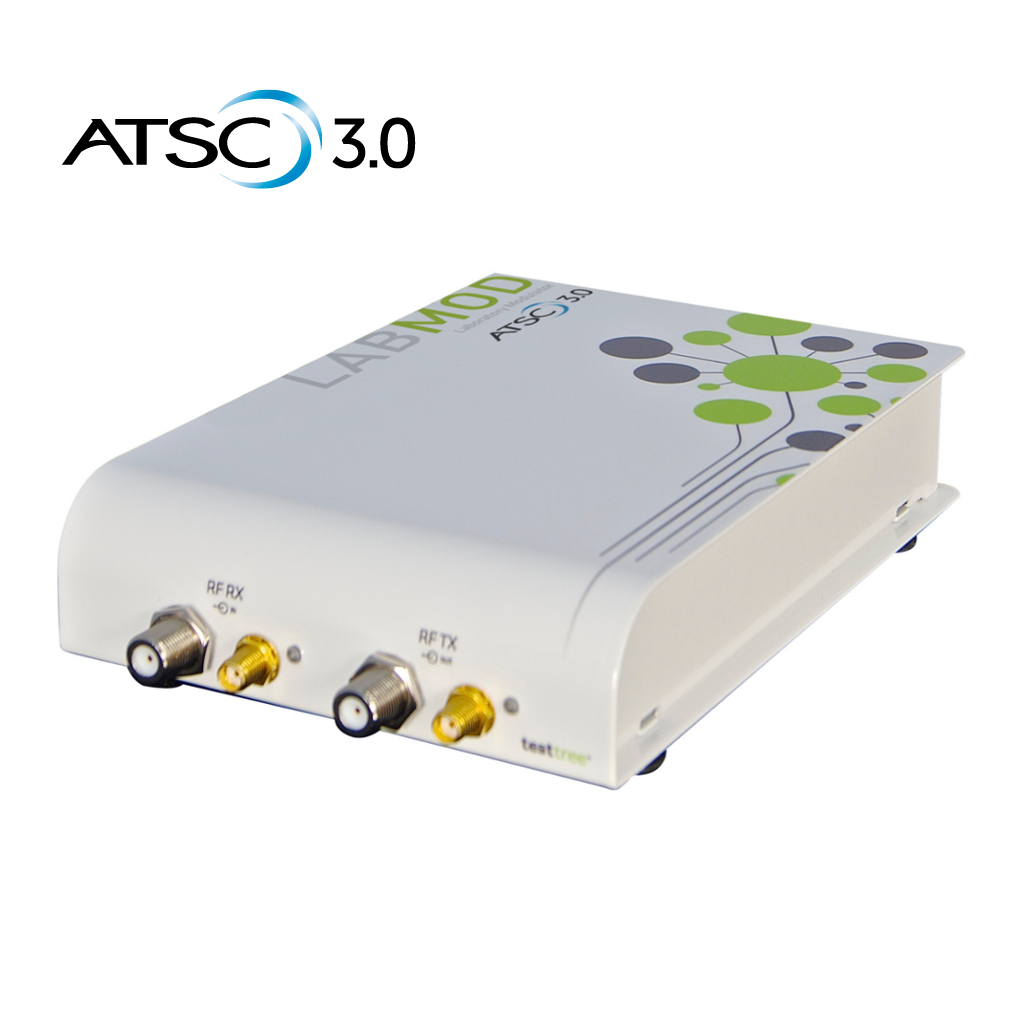 ATSC 3.0 Modulator for Lab – Portable RF Generate & Playback