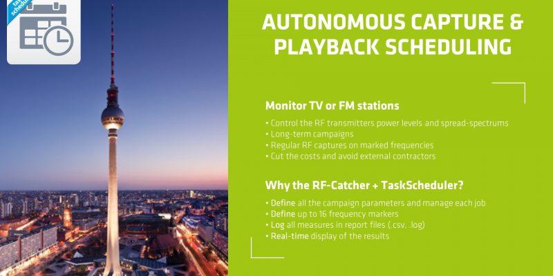 RF-Catcher Suite: TaskScheduler