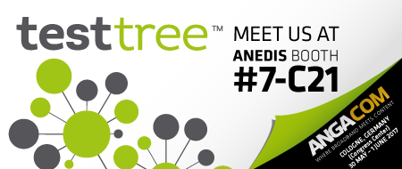 TEST-TREE at ANGACOM 2017 Booth #7-C21