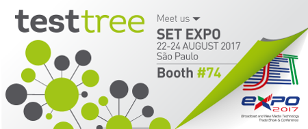 TEST-TREE at SET EXPO 2017 Booth #74